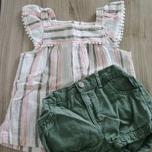 2pc Carter's 18m summer outfit
